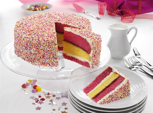 Angel Sparkle Cake