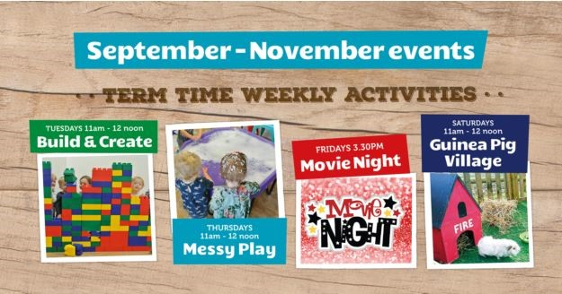 Term Time Activities Sept December 2018 Image