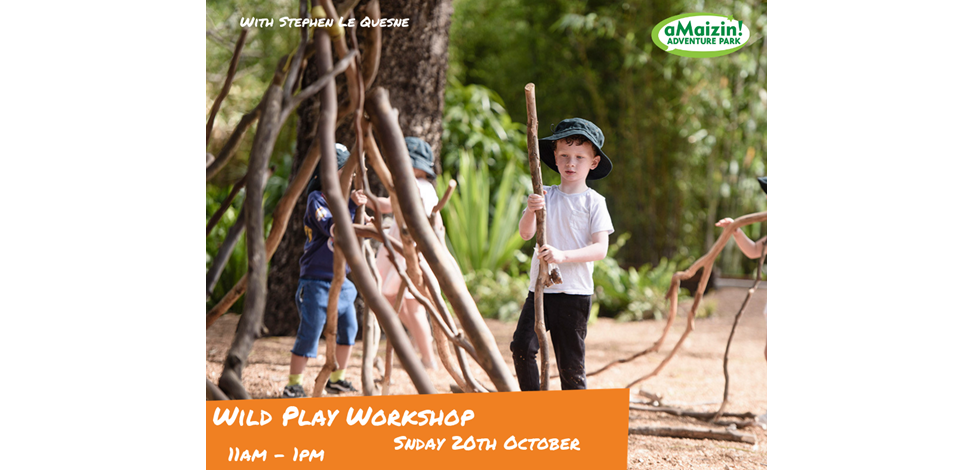 Wild Play Workshops Sun 20 Oct Image